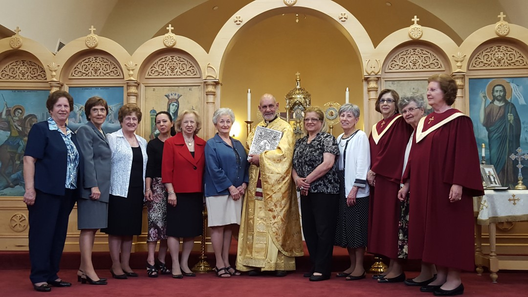 New Philoptochos Board sworn in 7th June 2015